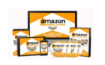 Amazon Affiliate Profits W/ Master Resale Rights + 48 Resell eBooks With MRR PLR