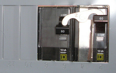 New Square D Generator Transfer Switch Panel Outlet For Up To 10kw