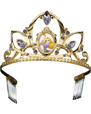 Child's Girls Deluxe Disney Princess Rapunzel Tangled Tiara Costume Accessory