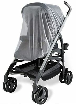 MOUNTAIN BUGGY Nano Baby Stroller Mosquito Insect Net Mesh White Shield CoverNEW