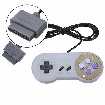 1 Pack Classic Controllers Bundle For Super Nintendo SNES 7 Pin Remote Control