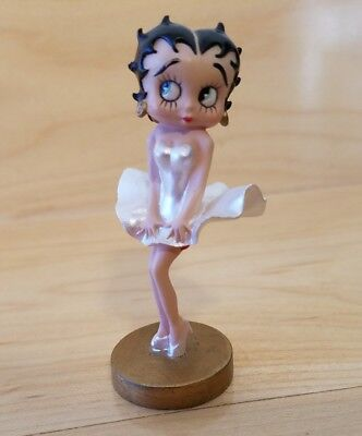 Betty Boop Westland Miniature Figurine White Dress/Marilyn Monroe
