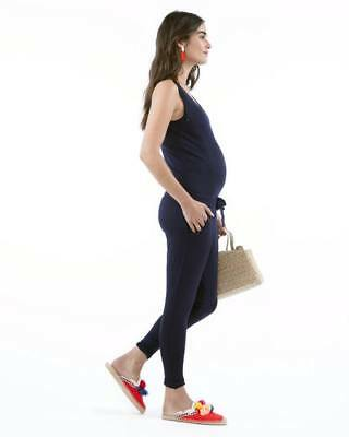 New Loyal Hana Womens Marni- Navy Nursing And Maternity Jumpsuit