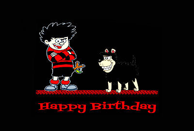 Dennis The Menace Birthday Card