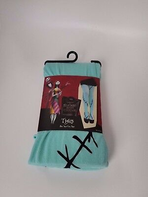 Disney The Nightmare Before Christmas Sally Tights One Size Fits Most Brand New