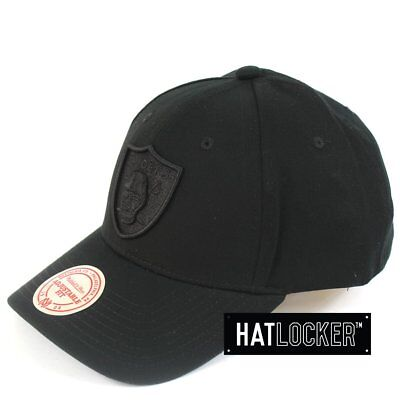 Mitchell & Ness - Oakland Raiders Low Pro Curved Snapback
