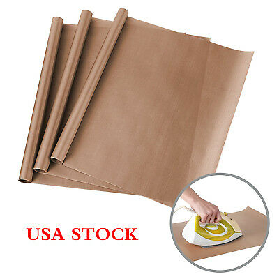 "3 Pack 16""x24"" Teflon Sheet Non-stick Heat-resistant Liner Oil-proof Baking Mat"