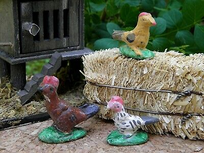 Miniature Dollhouse FAIRY GARDEN Accessories ~ Set of 5 Rustic Duck /& Ducklings