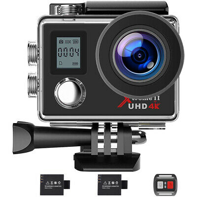 Campark Ultra HD 4K/30fps WIFI Sports Action Camera DVR Cam w/ Remote Control AU
