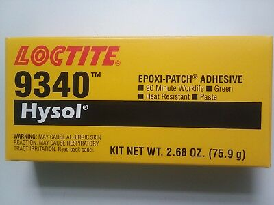 Loctite -9340 Hysol - Epoxy Patch Adhesive High Temp 2.7 Ounce Use by: 02/18