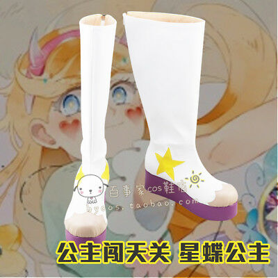 Hot!new Star vs. the Forces of Evil cosplay shoes costom made GG.153