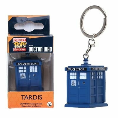 Keychain Doctor Who: Tardis Vinyl Action Figure Collectible Kids Toy Gifts NEW