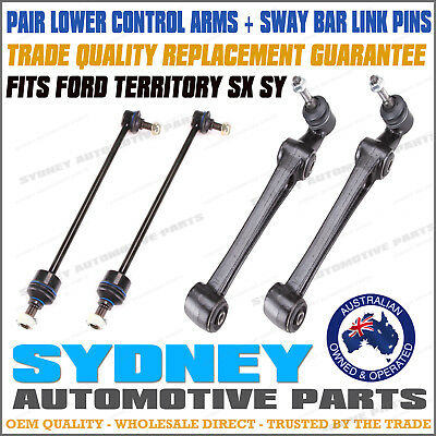 Ford Territory SX SY 2WD AWD Front Complete Lower Control Arms & Sway Bar Links