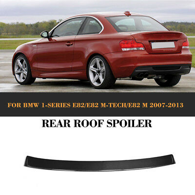 Carbon Fiber Rear Boot Spoiler Wing Fit for BMW 1 Series E82 120i 135i 2008-2011