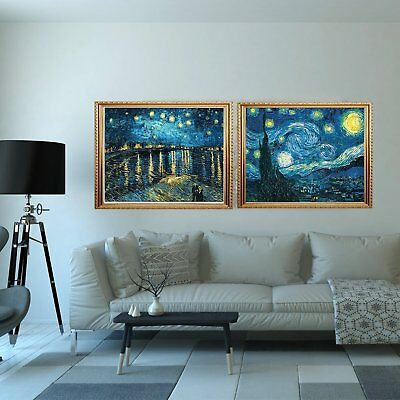 Full Drill DIY 5D Magic Diamond Painting Embroidery Starry Night Home Decor Art