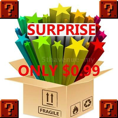 0.99 ONLY for a Surprise ✔ Practical Gadgets Mysterious Box 100% Random Box Case
