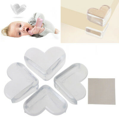4Pcs Child Baby Safety Protector Kids Desk Table Corner Edge Protection Cover