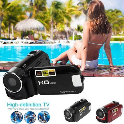 1080P FULL HD Kamera Camcorder Digital Videokamera LCD 16x Zoom DV CAMERA SD