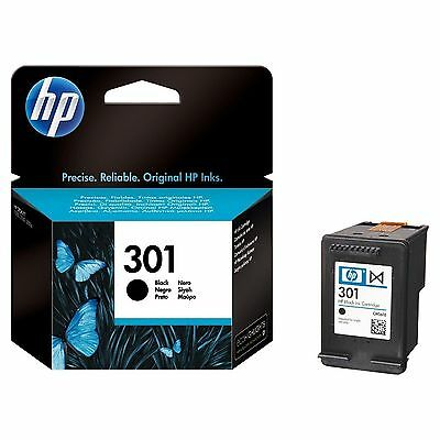 Original HP 301 Deskjet Ink Cartridge Black (CH561EE) for HP Deskjet 3050