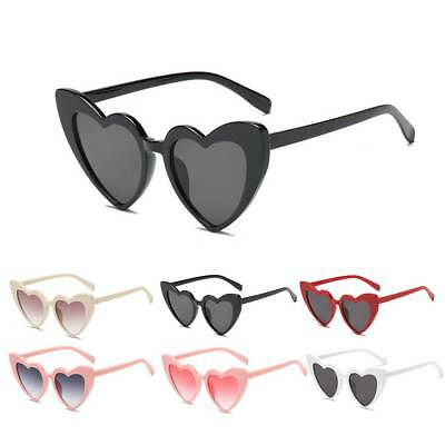 Retro Love Heart Shaped Sunglasses Large Fashion Fancy Dress Hen Party Hen Night