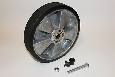 """10"""" 250 mm Rubber Contact Wheel for 2x72 Belt Grinder, knifemakers"""