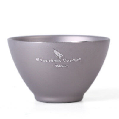 Boundless Voyage Titanium Wine Tea Sake Cup-Outdoor Camping Hiking Drinkware