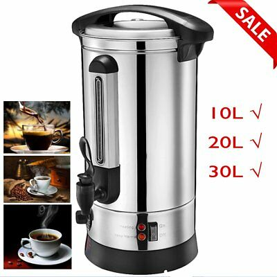 10L 20L 30L Electric Stainless Steel Hot Water Boiler Urns Commercial Catering