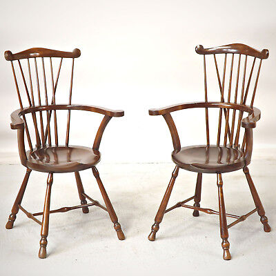 Windsor Chair x 2 / a Pair - Oliver Goldsmith (delivery available)