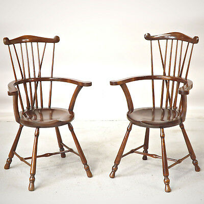 Windsor Chair x 2 / a Pair - Oliver Goldsmith (delivery £45)