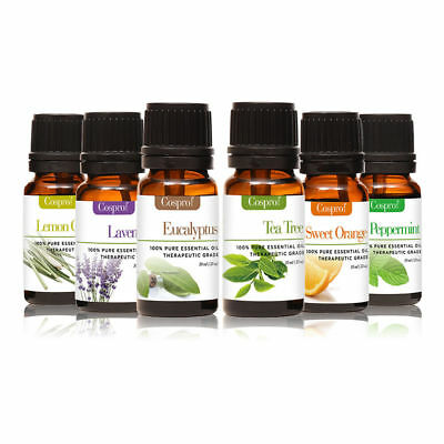 100% Pure Organic Essential Oils 10ml Therapeutic Grade Aromatherapy
