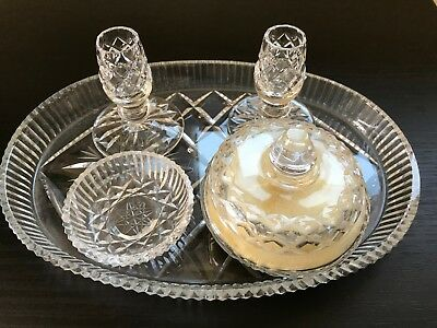 VINTAGE 5 piece dressing table set - £9.99 | PicClick UK