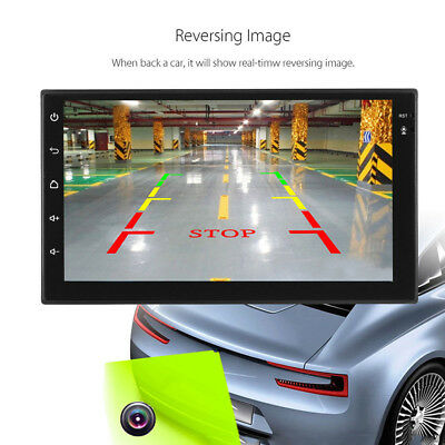 7'' Android 6.0 Double 2 DIN WiFi Car Stereo Radio Mp5 Player GPS SAT Navigation