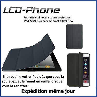 Pochette étui housse coque protection iPad 2/3/4/5 mini air 2 pro 9.7 12.9 New
