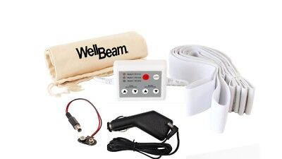 WellBeam Accessories - 4 straps, Custom Controller, Battery Clip & Car Charger