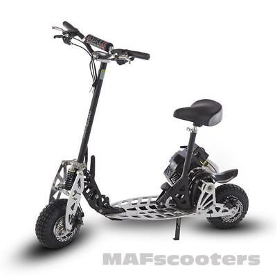 MAF Evolution X2T Power 71cc Petrol sport Scooter go-ped with 2 gears Pro Wheels
