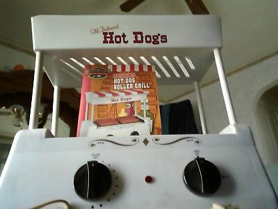 Vintage Old fashioned electric hot dog maker with booklet, no box but never used