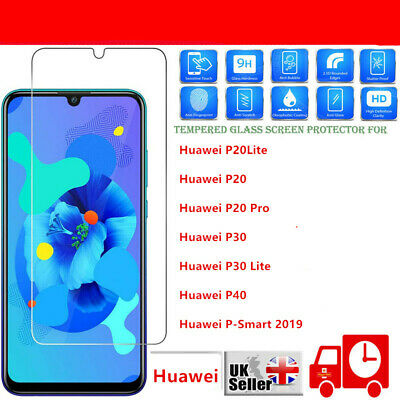 For Huawei P20 Pro Lite Tempered Glass Screen Protector Premium Protection NEW