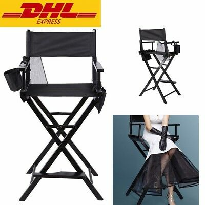 Silla Plegable Playa de Director Con Bolsa Sillas Para Maquillaje Makeup Chair