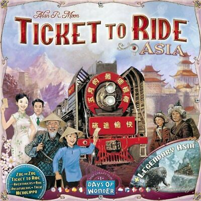 Ticket To Ride Asia: Map Collection  - Brand New & Sealed