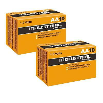 20x Duracell Industrial AA Alkaline Batteries Replaces Procell MN1500 1.5V LR6