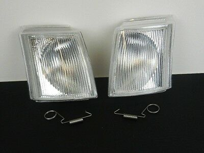 Ford Transit Mk 4 Mk5 1991-2000 Pair Front Clear Indicators Repeaters Set Lh+Rh