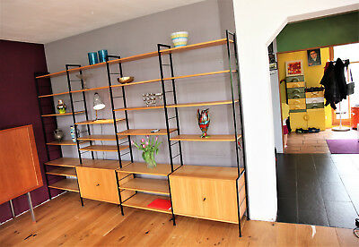 60er 50er  shelving system shelf  Regal Wandregal  String