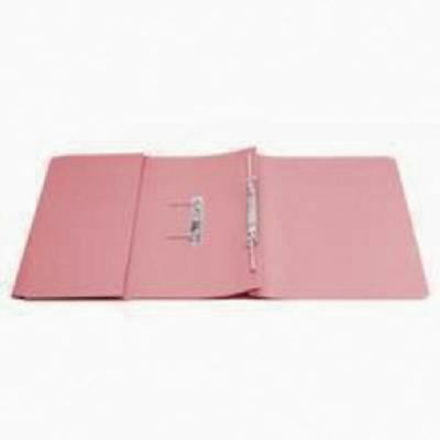 Q-Connect 35mm Capacity Pink Transfer Pocket Foolscap File  [KF26098]
