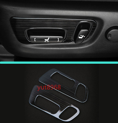Car Seat Handle decoration Panel Cover Trim For Toyota Highlander 2015-2018