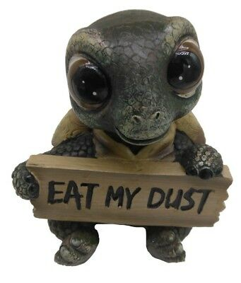 Super cute collectible resin turtle figurine.
