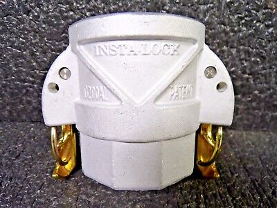 "Insta-Lock D200AL, 2"", Type D, Aluminum Female Coupler X Female NPT (K)"
