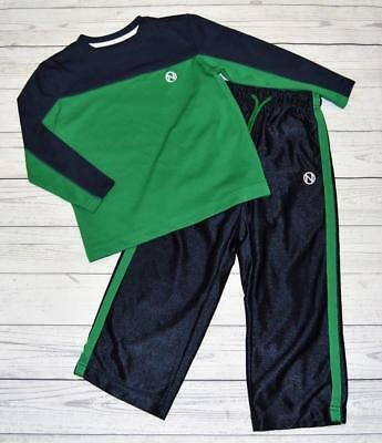 Boys Sz XS 5 OLD NAVY 2pc Active Outfit Set Long Sleeve Shirt Athletic Pants