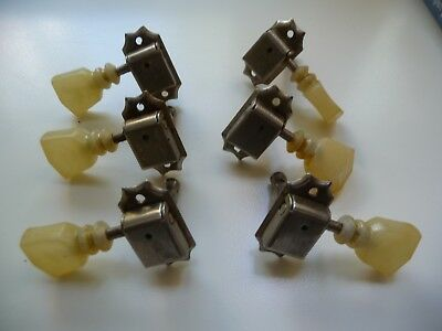 Crazy Parts Gibson Les Paul Kluson Single Line Tuners / Mechaniken RI Aged