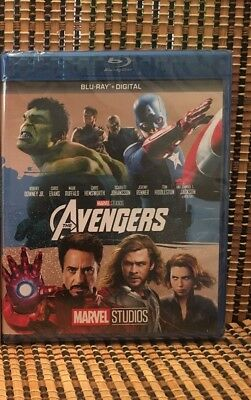 Marvel's The Avengers (Blu-ray, 2017)Thor/Captain America/Hulk/Iron Man/Loki