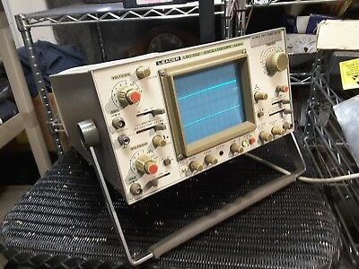 Leader Lbo-522 20 Mhz  Oscilloscopoe  Used At College  Nice Used $69